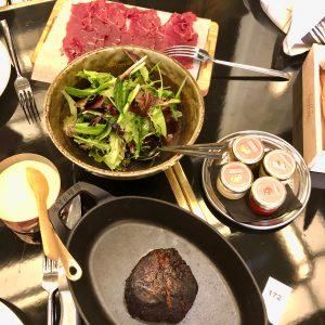 Restaurant Beefbar Paris boeuf