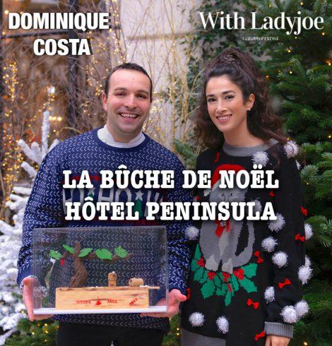 Spéciale Bûche de Noël avec Dominique Costa