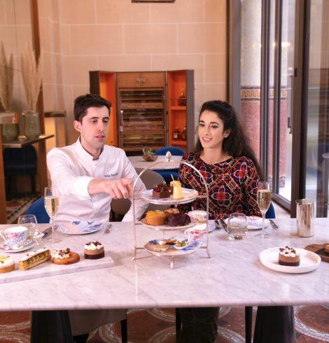Le Tea Time de Tristan Rousselot, Hôtel Prince de Galles