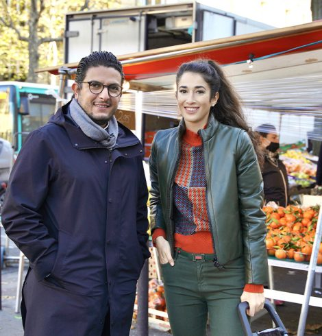Le marché Wilson avec Akrame