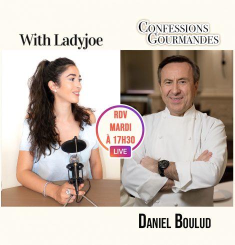 Confessions Gourmandes avec Daniel Boulud