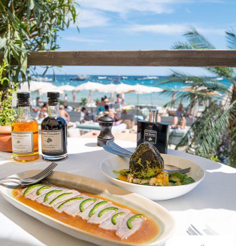 Les meilleurs restaurants de plage à Saint-Tropez